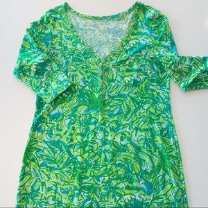 Well-loved Lilly XL, in great condition. Green!!!
